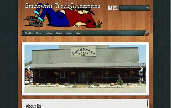 Client Website: Sundowner Truck Accessories